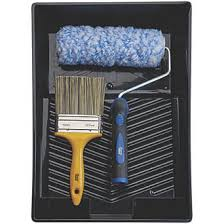 Harris Trade Extra Long Pile Masonry Roller Brush Set 4 Pieces Scuttles Kits Trays Screwfix Com