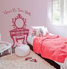 Girl S Room Vanity Wall Decals The Decal Guru