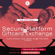 sell or exchange gift cards to naira in