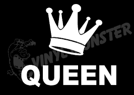 King Crown Gold Funny Car Window Bumper Or Laptop Dub Drift Vinyl Decal Sticker Archives Midweek Com