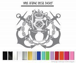 Navy Diver Vinyl Graphic Decal Vinyl Graphic Decal By Shop Vinyl Design Shop Vinyl Design