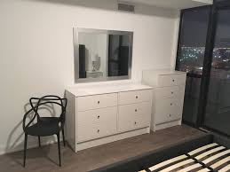 ikea 6 drawer dresser and 4 drawer