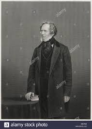 Antique c1860 engraving, Edward Smith-Stanley, 14th Earl of Derby Stock  Photo - Alamy