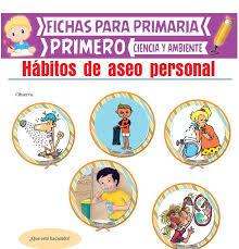 aseo personal para primero de primaria