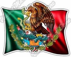 Mexican Flag Hispanic Country Mexico Car Bumper Vinyl Sticker Decal 5 X4 Ebay