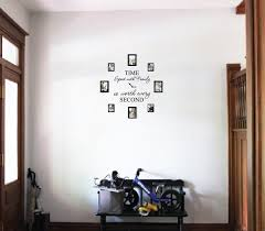 Isabelle Max Time Spent With Family Is Worth Every Second Home Clock Wall Decal Reviews Wayfair