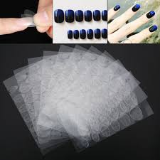 tips sticky nail art double sided tape