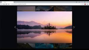 sd code responsive gallery html
