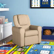 Isabelle Max Forman Kids Recliner With Cup Holder Reviews Wayfair