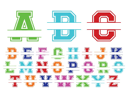 Monogram Car Decal Vinyl Name Yeti Decal Sticker Personalized Decal Split Alphabet Name Stickers Oracal 651 Vinyl Rtic Sic Bigfoot Vineandwhimsydesigns Online Store Powered By Storenvy