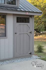 8 x 10 wood garden shed stack shed
