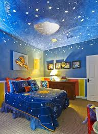 Childrens Room Outer Space Theme Unique Kids Bedrooms Cool Bedrooms For Boys Creative Kids Rooms