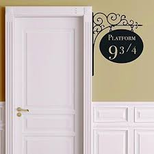 Creative Platform 9 3 4 Harry Potter Door Decor Sticker Artistic Wall Shopnowbeforeyoudie Com