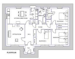 irish bungalow floor plan bungalow