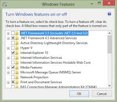 install net framework 3 5 on windows 8