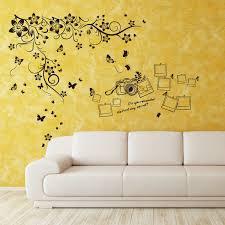 Shop Walplus New Huge Butterfly Vine Photo Frame Wall Sticker Home Decor Overstock 32007152
