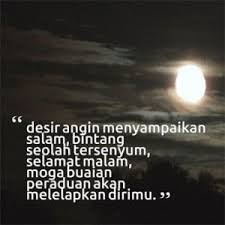 gambar kata kata ucapan selamat malam selamat malam malam kata