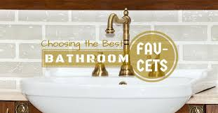 best bathroom faucets for your rv