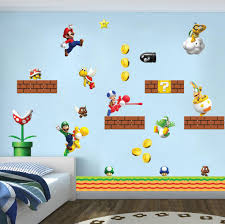 Super Mario Bros Scene Wall Sticker Decal Wc138 Decalz Co
