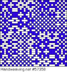 Handweaving.net: Weaving Draft Networked Crackle, Sondra Rose, 2004-2020,  #57358