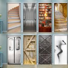 Home Decor Door Or Fridge 3d Door Wrap Wall Decal Sticker Poster Decor Mural Beer Bubbles Medicareresources Org