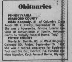 Hilda McConnell Kennedy - Newspapers.com