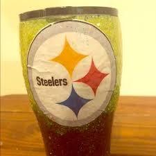 Dining Pittsburgh Steelers Glitter Tumbler Poshmark