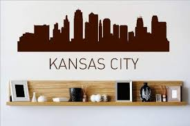 Amazon Com Vinyl Wall Decal Sticker Kansas City Missouri Mo Skyline City View Beautiful Scene Landmarks Buildings Water Bedroom Bathroom Living Room Picture Art Peel Stick Mural Discounted Sale