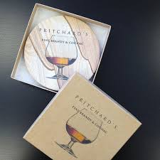 natural sandstone coaster with gift box