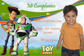 Tarjetas De Cumpleanos Toy Story Gratis Imagui