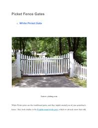 13 Irresistible Fence Gate Design To Transform Your Outdoor Space