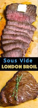sous vide london broil top round steak
