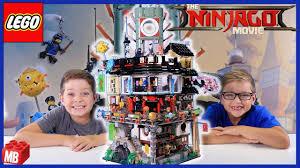 Lego NINJAGO MOVIE Ninjago City Unbox Build Review PLAY #70620 World's  Biggest Lego Ninjago Set! - YouTube