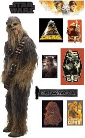 Amazon Com Fathead Chewbacca Solo A Star Wars Story Life Size Officially Licensed Removable Wall Decal Premium With Ancillary Home Kitchen