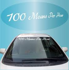 Windshield Banners Topchoicedecals