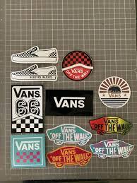 11 Vans Off The Wall Logo Decal Sticker Skateboard Lot Ebay