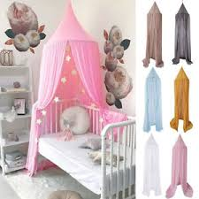 Jp Kids Baby Bed Canopy Bedcover Mosquito Netting Princess Dome Tent Bedding Ebay