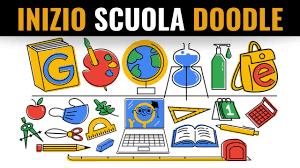 Inizio scuola Google Doodle | Primo Giorno Di Scuola 2020 | First Day of  School in Italy - YouTube