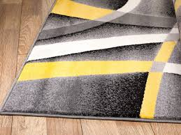 summit gray abstract area rug with