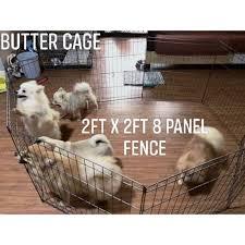 8 Panel Dog Fence 2ft 2 5ft 3ft Playpen Shopee Philippines