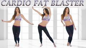 fat burning workout at home video لم