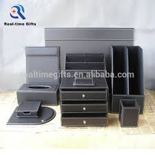 luxury black business office table