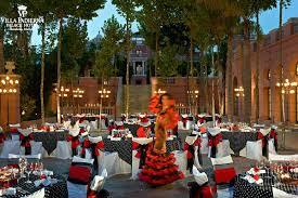 Linares Terrace Flamenco Theme With Dancer Flamenco Party