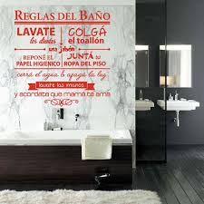 Stickers Bathroom Rules Vinyl Wall Decor Bathroom Wall Art Decal Shower Room Home Decor Poster Pattern House Decoration Wall Stickers Aliexpress