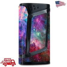 Smok Alien 220w Skin Decal Vinyl Wrap Tc Vape Mod Stickers Skins Cover Colorful Itsaskin1 Vape Mods Vinyl Wrap Vape