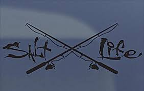 Sell Salt Life Signature Fishing Pole Truck Window Exterior Vinyl Decal Sticker New Motorcycle In Kingsland Georgia Us For Us 8 58