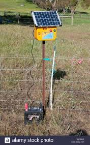 Electric Fence High Resolution Stock Photography And Images Alamy