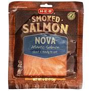 nova smoked salmon fish