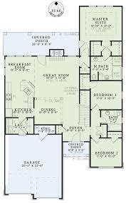 house plan 82250 narrow lot style