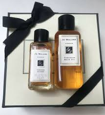 jo malone bath soaps with dish